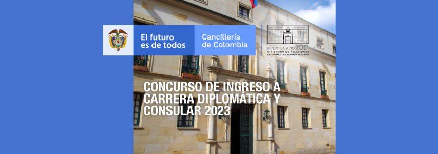 Concurso de Ingreso a la Carrera Diplomática y Consular 2023
